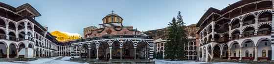 Monasterio Rila Panorama