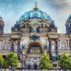Fachada de la famosa catedral de Berlín